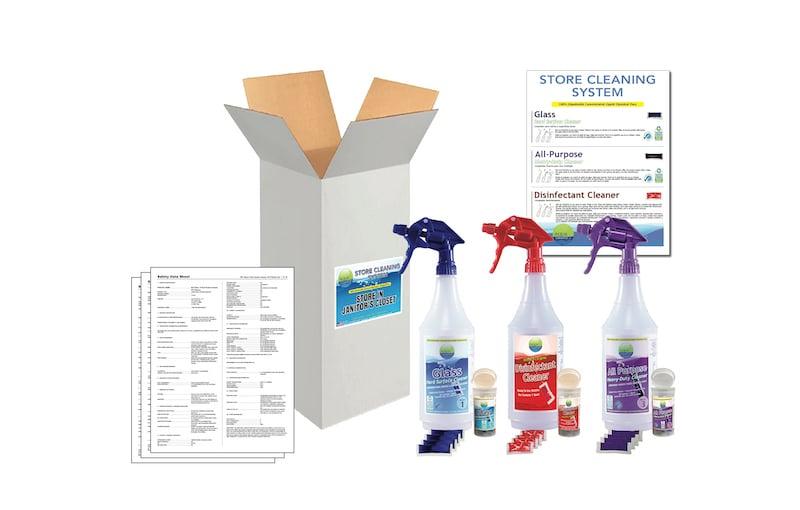 Retail Store Cleaning Kit | Aqua ChemPacs