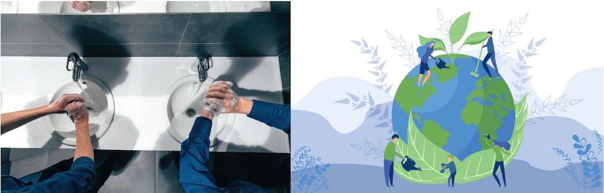 aqua chempacs handsoap sustainability