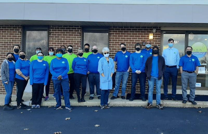 aqua chempacs team 2021 with masks 1