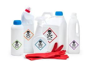 combining cleaning chemicals can be dangerous --- aqua chempacs